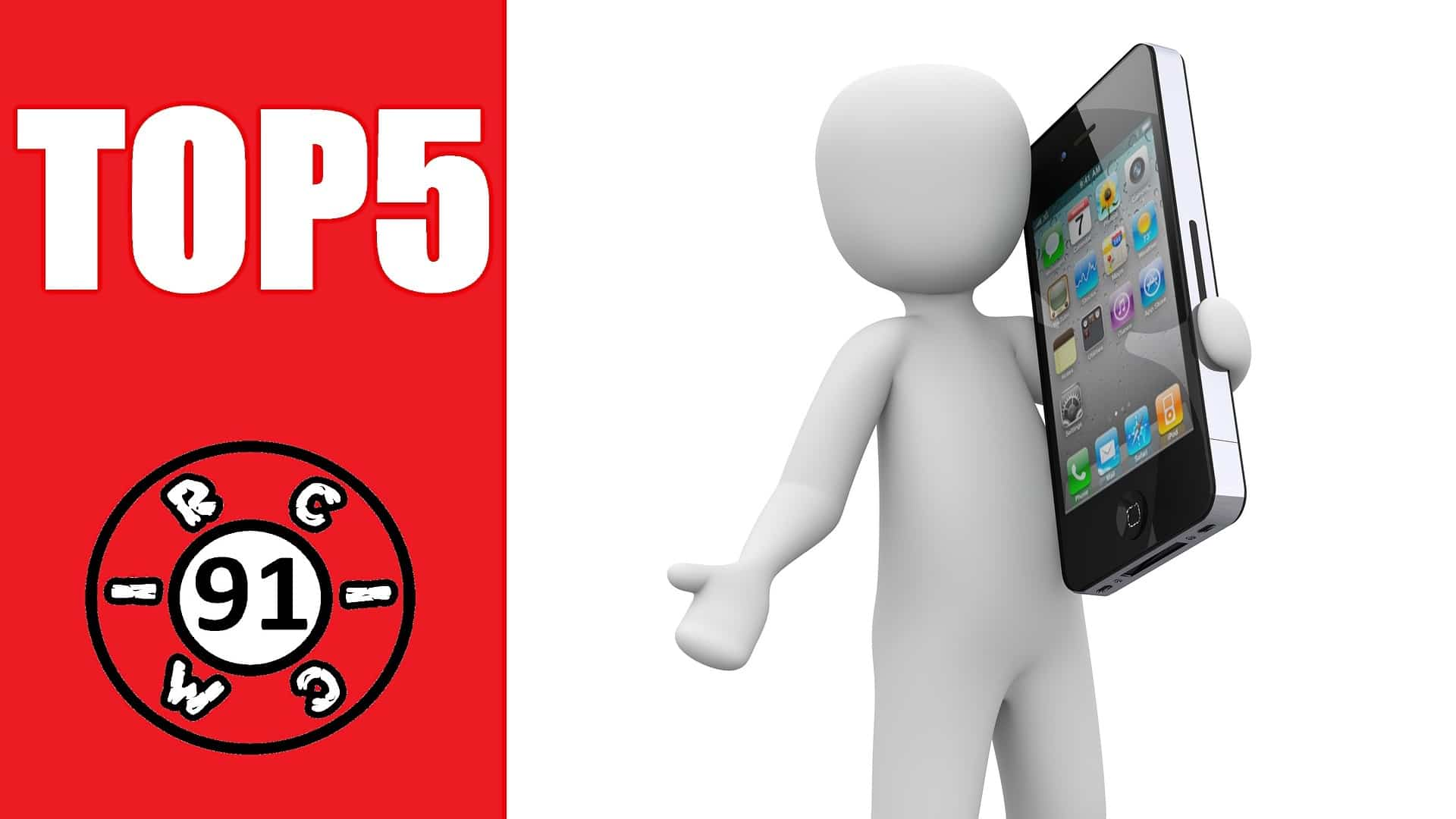 Top 5 Mobile Phones for the year 2020