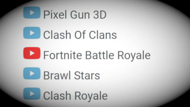 List of streamed games