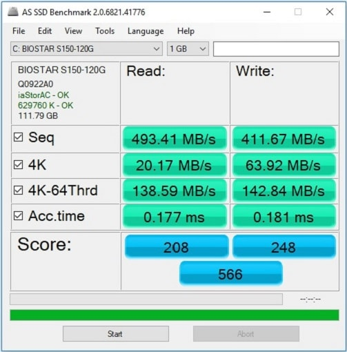 Kingston A400 vs Silicon Power S55 [240GB] 7