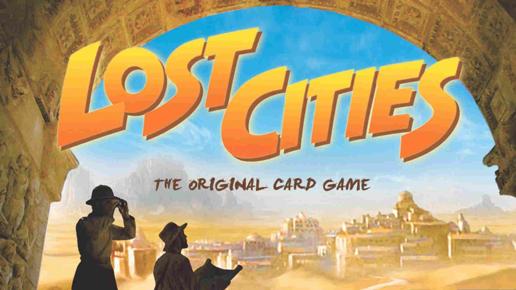 Lost cites card game