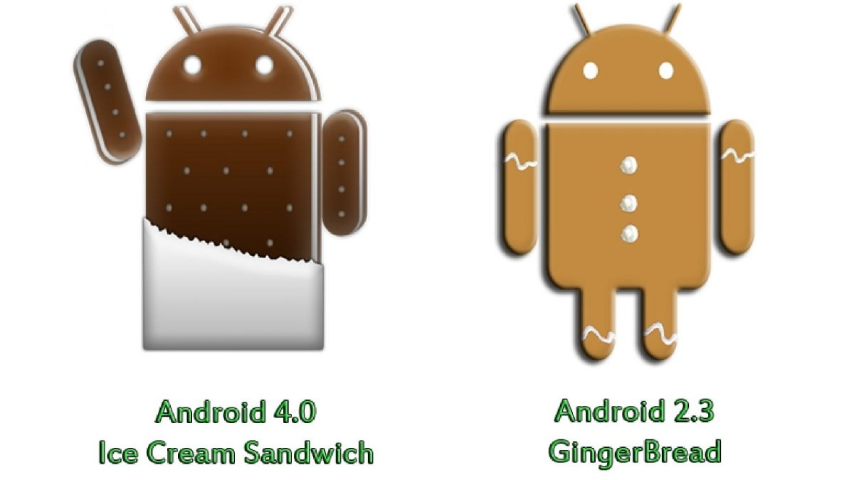 Android Gingerbread vs Ice Cream Sandwich 2