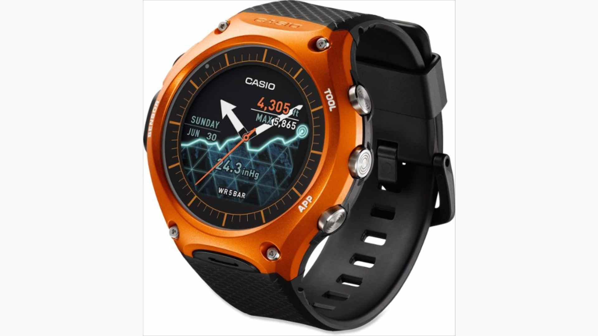 Casio WSD-F10 Review