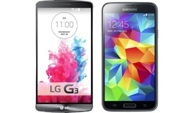 LG G3 vs Samsung Galaxy S5 Comparison 2