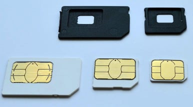 SIM Card Types Explained [Mini, Micro, Nano] 1
