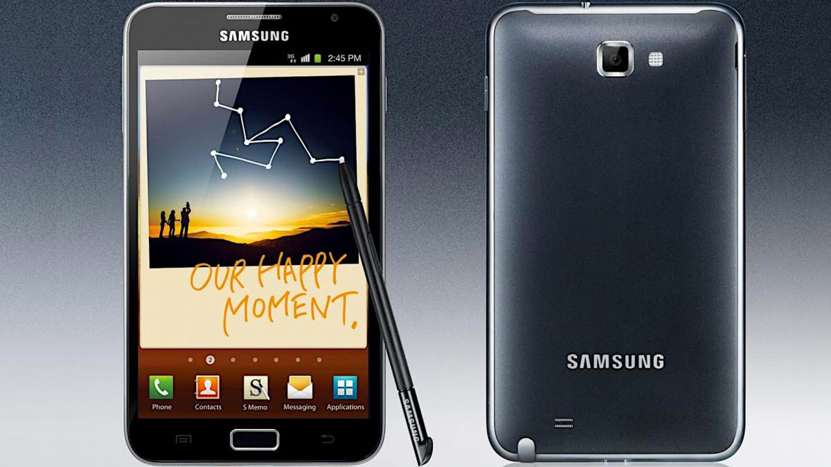 Samsung Galaxy Note Review [First Generation] 2
