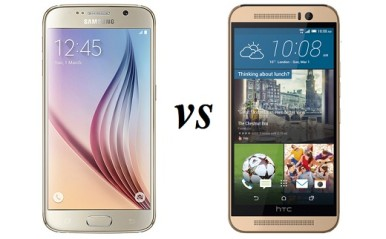 Samsung Galaxy S6 vs HTC One M9 Comparison 2