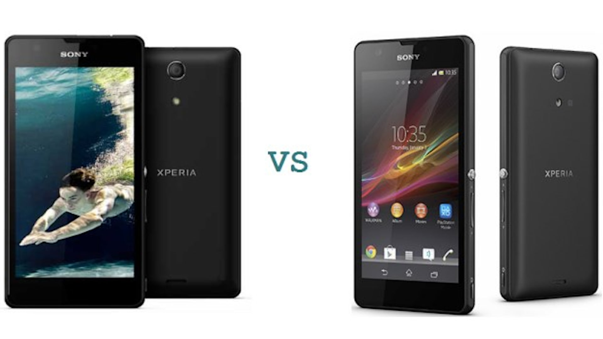 Xperia Z vs Xperia ZR Comparison
