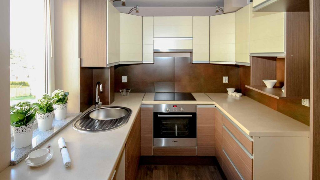 How to Arrange a Small Kitchen [Tips] 2