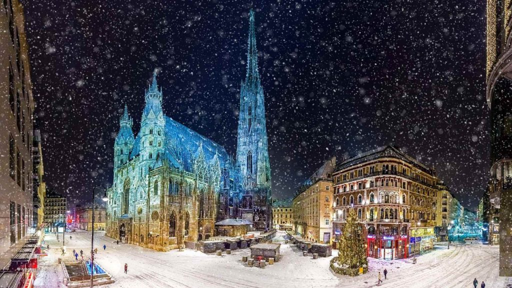 New Year Winter Fun Vacation Destinations in Europe 2
