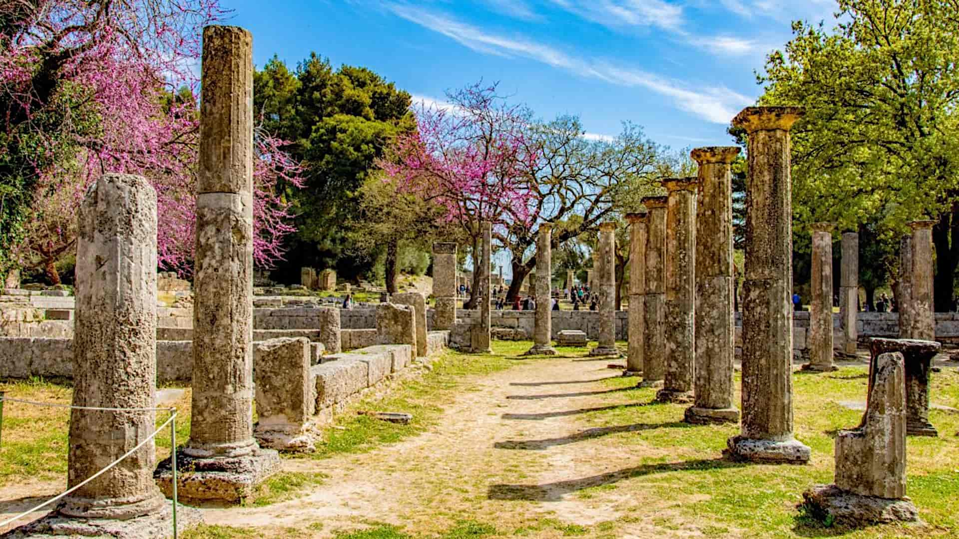 Olympia in the Peloponnese – the Cradle of the Olympic Games and the Greek Sanctuary